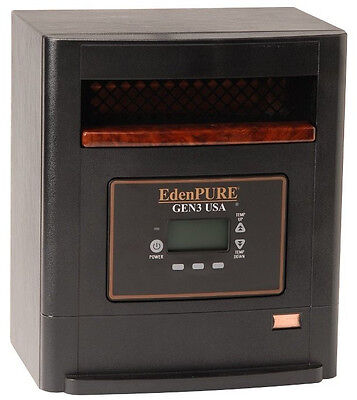 New EdenPURE GEN 3 USA Quartz Infrared Heater