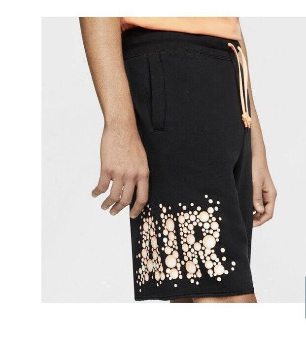 Nike Sportswear Nsw Mens Bubble Alumni Shorts Size Xl Black