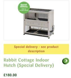 Indoor Rabbit Hutch.