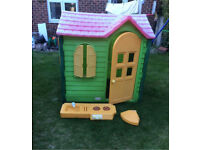 Little Tikes/Tykes Evergreen Country Cottage Playhouse,Can Deliver 4fee 30miles