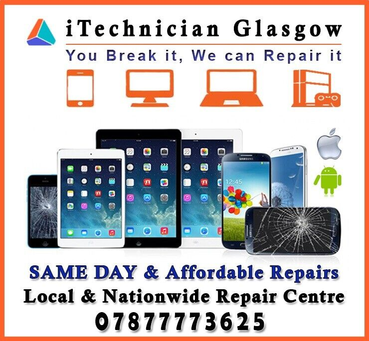 SAME DAY Repair Apple iPhone X 8 7 6 5c XR XS iPad Glass