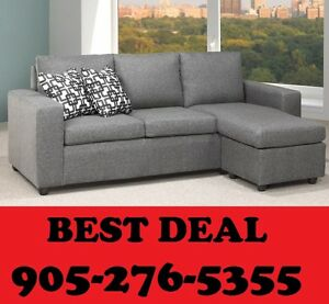 2PCS CANADIAN MADE SOFA N CHAISE ONLY $499.00