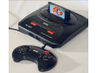Sega Mega Drive With 2 Controllers & 6 Games