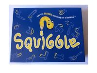 Squiggle Family Drawing game