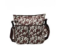 New Large Baby Changing Bag in Floral Pattern