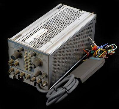 Tektronix La 501 Tm500-system Logic Analyzer Plug-in Module Wp6450 Probe
