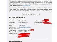Justin Bieber Purpost tour Tickets 14th October