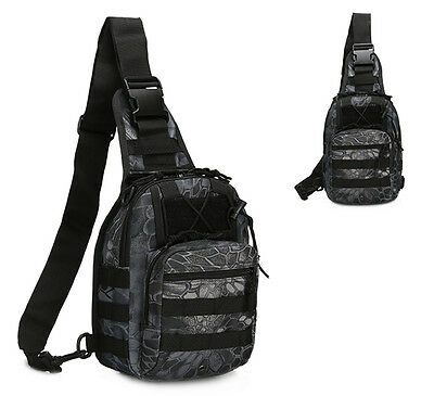 Outdoor Shoulder Military Tactical Backpack Travel Camping  Hiking Trekking Bag