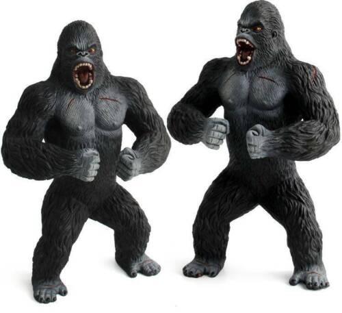 Standing Gorilla Silverback Gorilla  Sculpture King Kong Figurina Statue