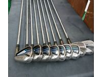 Taylormade clubs 4-A