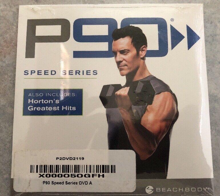 New Sealed P90 Beachbody Speed Series DVD Tony Horton