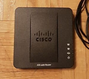Cisco SPA122 ATA (internet telephony) with Router