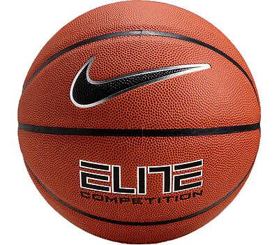 "NIKE Elite Competition 8-Panel Basketball Ball BB0446-801 Size 7 - 29.5"""