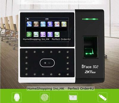 Zkteco Biometric Face Fingerprint Attendance Time Clockaccess Control Zkteco