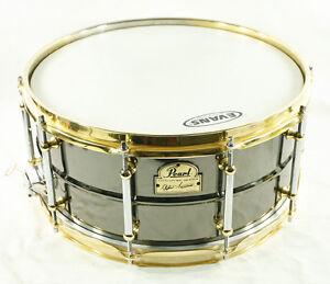 pearl steve ferrone signature model snare drum very nice condition ebay. Black Bedroom Furniture Sets. Home Design Ideas