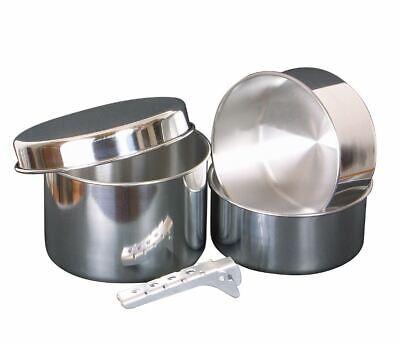 Ollas Aluminio 4-teilig Vajilla Camping Platillo Despensa Utensilios de Cocina
