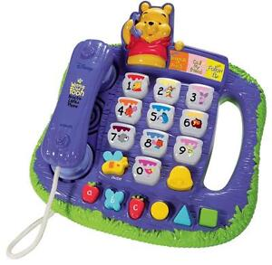VTech Winnie the Pooh Teach 'n Lights Phone