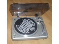 """Turntable """"Ministry of Sound"""" (not USB)"""