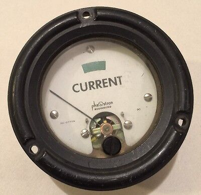 Phaostron Ruggedized Current Panel Meter 310 07706 90 Tested Working