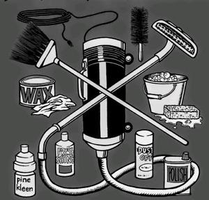 Ménage et travail général domestique