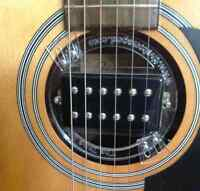 PICKUPS GFS ,MOUNTING RING POUR GUITARE ACOUSTIQUE THE TONE GOD