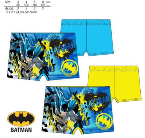 Badehose von Batman --> blau und gelb --> Gr. 98 bis 128 --> NEU