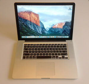 "15"" MacBook Pro i7 Quad-Core ~ 2.0GHz/4GB/500GB ~ Apple-tested"