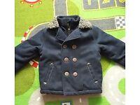 Boys winter coat Debenhams age 2-3