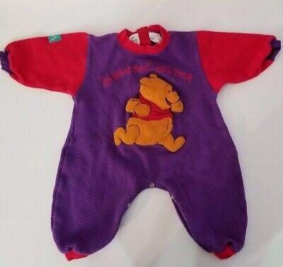 Winnie The Pooh Suit (Vintage The Disney Store Winnie the Pooh Jump Suit Size 12)