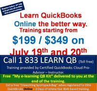 QuickBooks Online – Web Based Training * @ $349 / $199