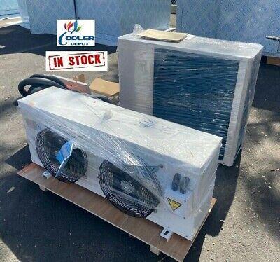 New Walk-in Cooler Refrigeration Cooling System Compressor 3 Hp Complete Kit