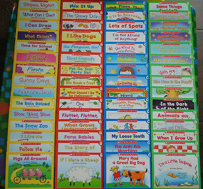 60 Easy Leveled A B C D Books Homeschool Preschool Kindergarten Learn to Read  on Rummage