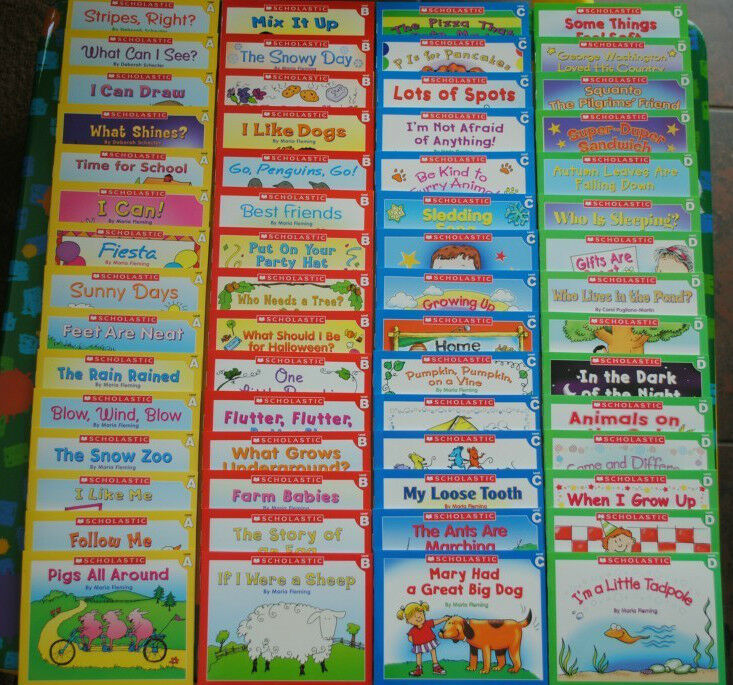 60 Easy Leveled A B C D Books Homeschool Preschool Kindergarten Learn to Read