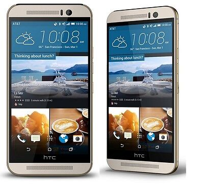 Htc One M9 32Gb Verizon R Gsm Unlocked Smartphone Cell Phone 6535L T Mobile At T