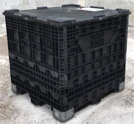 Collapsible Plastic Pallet Boxes