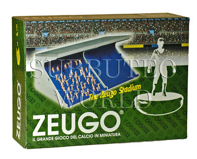 TWO ZEUGO GRANDSTANDS & 50 SPECTATORS. SUBBUTEO TABLE SOCCER, TABLE FOOTBALL.