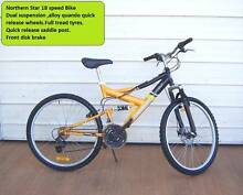 Northern Star 18 Speed Bicycle..Free Helmet Inala Brisbane South West Preview