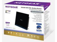 Netgear D6200 WiFi Modem Router