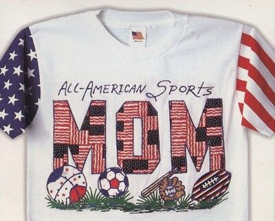 Iron-on Innovations Stars & Stripes 'All-American Sports Mom