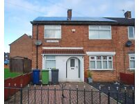 Gaskell Avenue, Biddick Hall/ Whiteleas, South Shields. No Bond*. DSS Welcome. LOW MOVE IN COST.