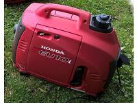 Honda eu10i inverter generator genny 240v 12v 8amp excellent condition off grid barge boat caravan
