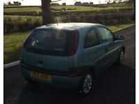 Corsa plus another for spares