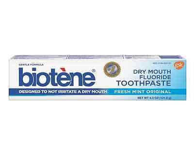 Biotene Gentle Formula Fluoride Toothpaste, Fresh Mint 4.3 oz