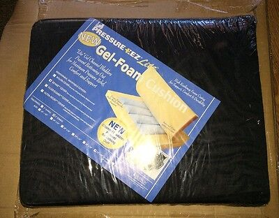 Hudson Pressure EEZ Bariatric Gel Cushion 22 x 18 x 3 w/nylon #244283