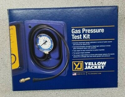 Yellow Jacket Gas Pressure Test Kit 78060 Rs