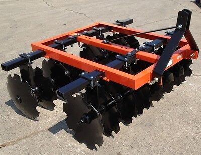 Brand New 3 Point Tractor 66 D Series Disc Harrow 16- 16 Inch Discs Or 16-18 5