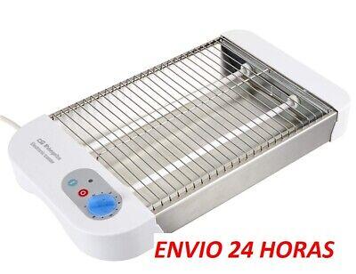 TOSTADORA DE PAN ELECTRICA HORIZONTAL PLANO 2 TUBOS 24 horas