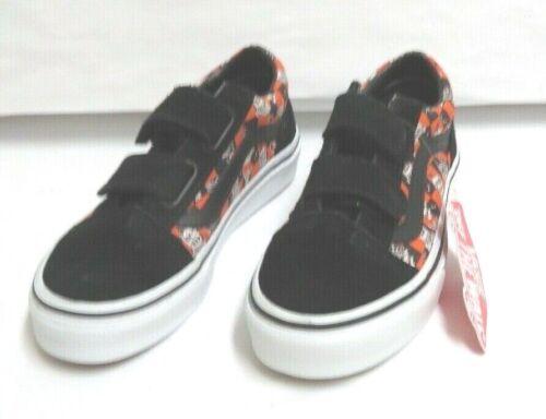 Vans Kids Glow Sk-8 Monsters Old Skool V Classic Skate Shoes Size 13 NWT/NWOB