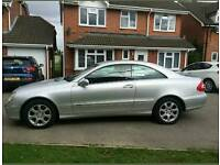 2003 mercedes clk 240 2.6 auto, excellent condition , full history, reduced price.