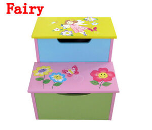 CHILDREN KIDS FIRST STOOL STEP STOOL WOODEN STOOL BEDROOM FURNITURE BRAND NEW